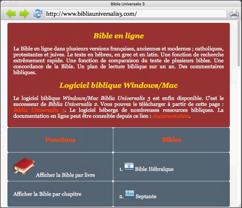biblia universalis